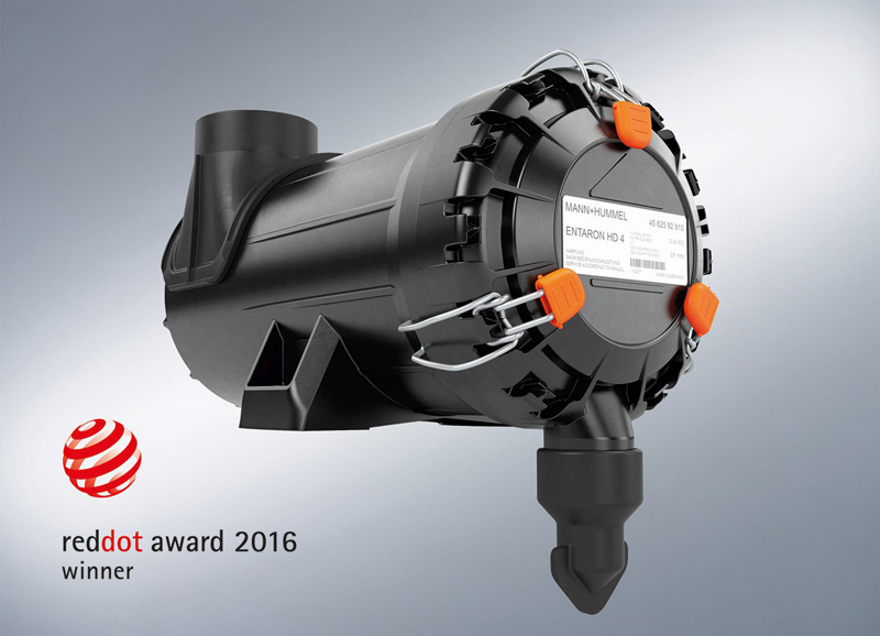 2016 Red Dot product design award for the ENTARON HD 4