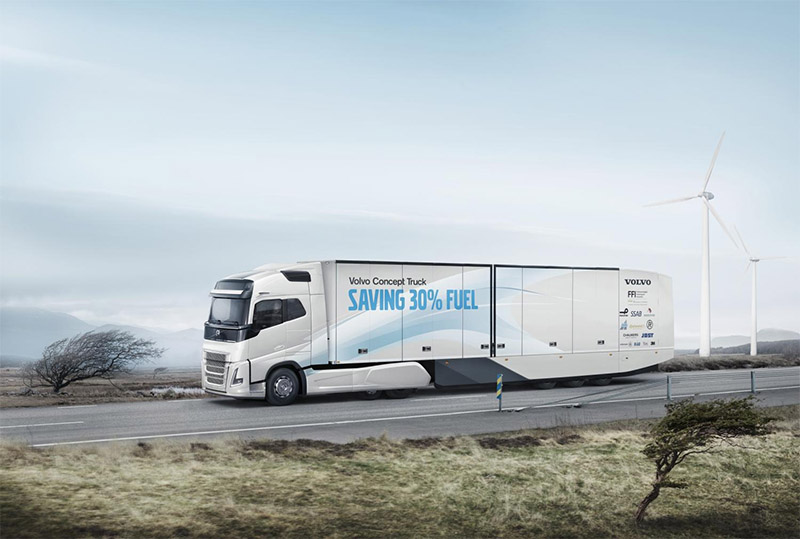 Continental supplies prototype tyres to Volvo Concept Truck
