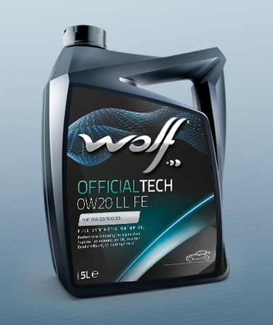 Engine oil WOLF OFFICIALTECH 0W20 LL FE