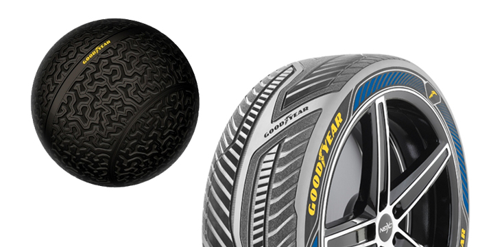 Goodyear Reveals Concept Tires