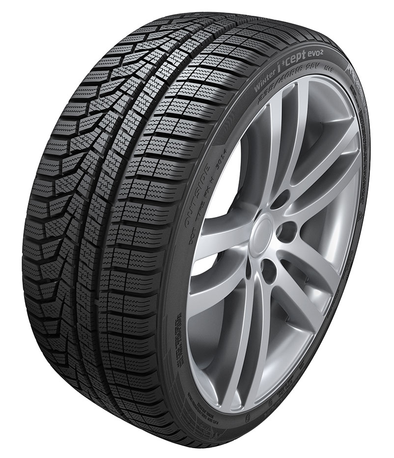 The Hankook Winter i*cept evo2 winter tyre