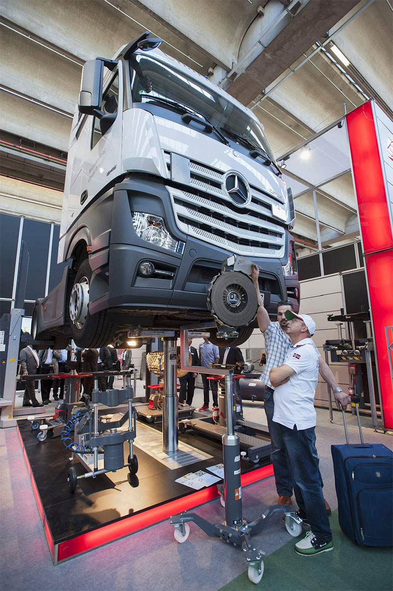Truck on Automechanika Franfurt 2016
