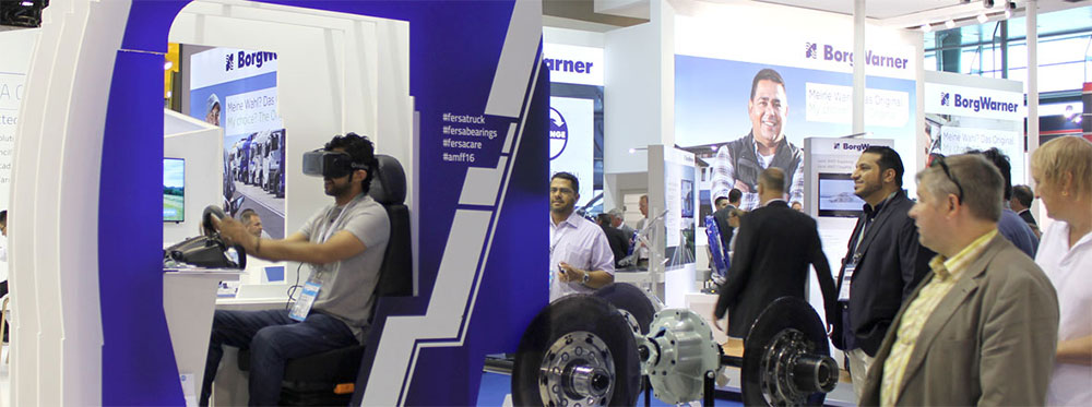 VR on Automechanika Frankfurt 2016