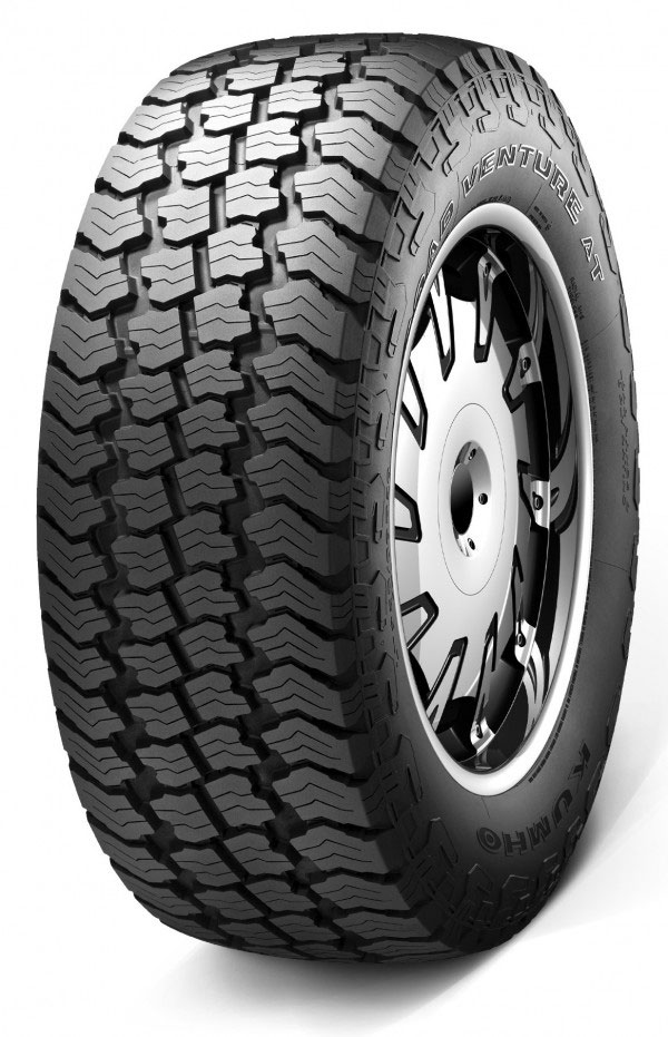 The most versatile tyre in Kumho's range is the Road Venture AT KL78 all terrain tyre