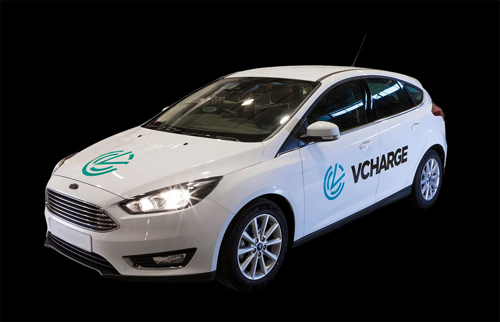 Ford Focus fitted with V-Charge