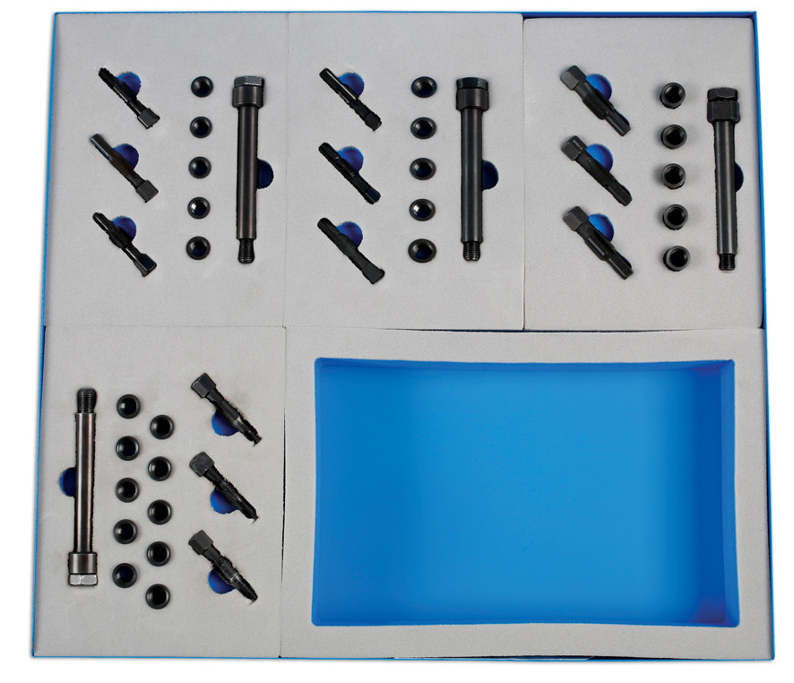 Laser Tools Master Glow Plug Threaded Insert Kit 6781