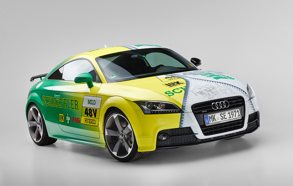 "The concept vehicle ""Schaeffler System 48V"""