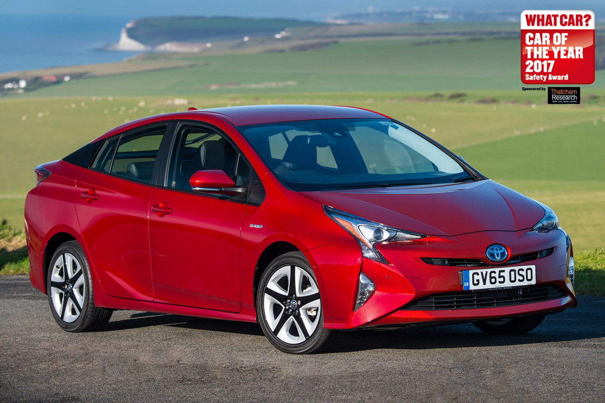 Toyota Prius the safest car of 2017