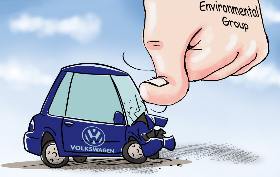 Environmental organizations has sued Volkswagen over diesel emission scandal
