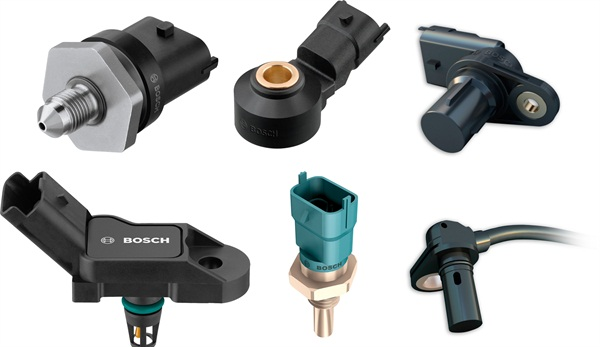 Bosch braking, engine management sensor and long haul heavy-duty starter lines