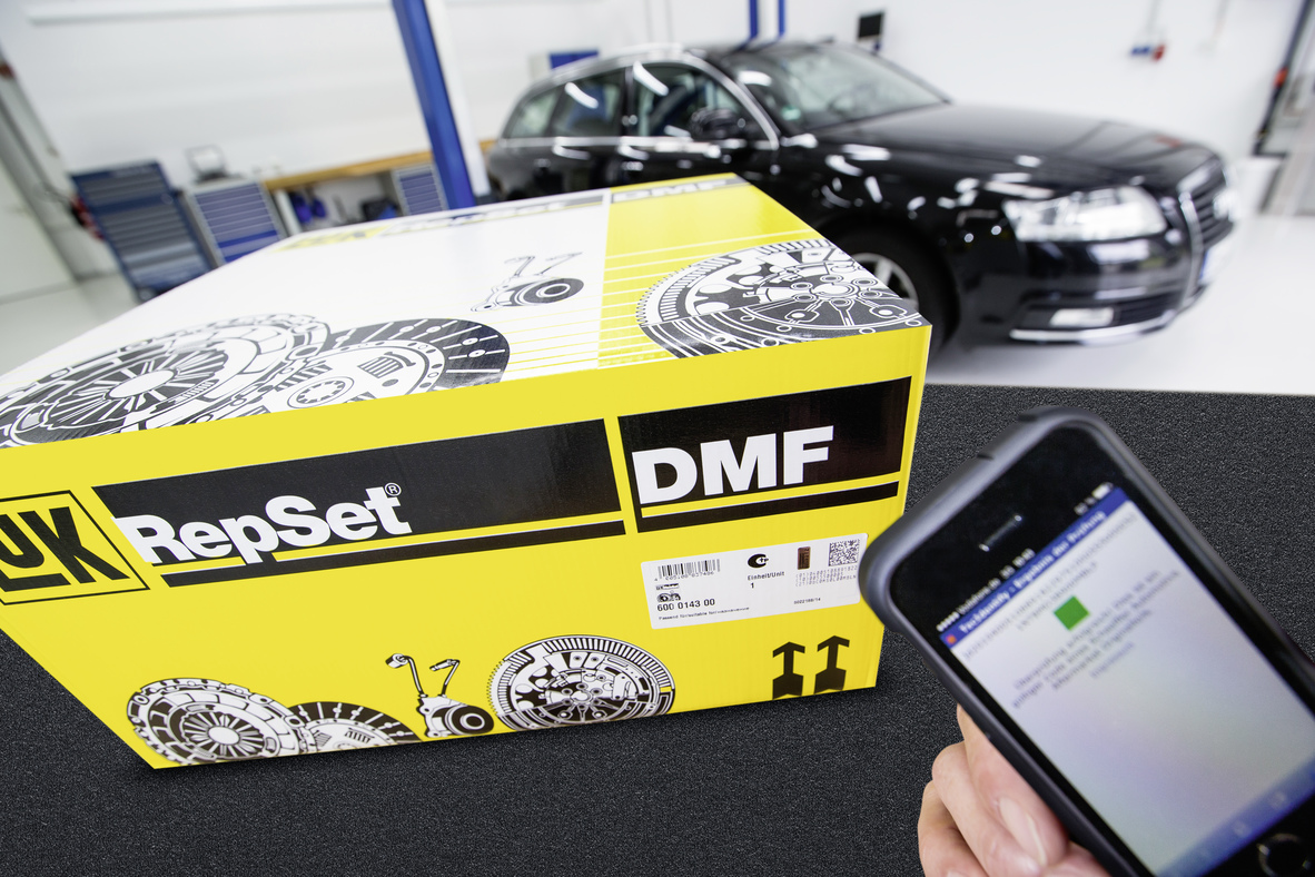 Schaeffler Automotive Aftermarket equips Product Packaging with forgery-proof Labels