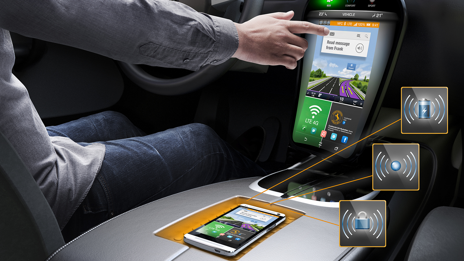 Used in ever-more electronic entertainment devices, multi-gesture recognition will enhance modern display and control systems in more and more vehicles.