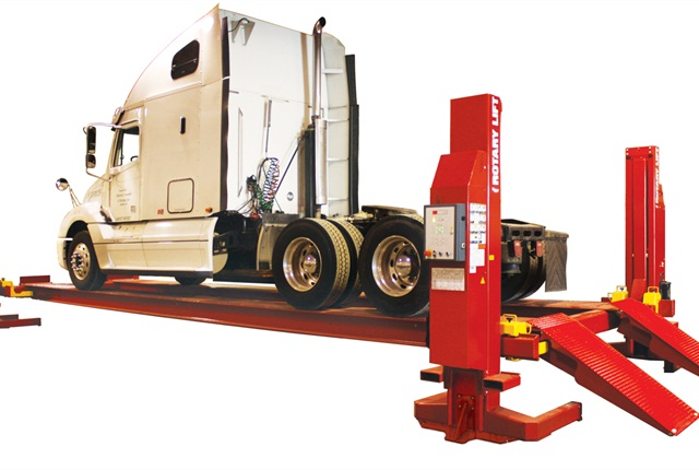 Rotary Lift heavy-duty four-post vehicle lifts