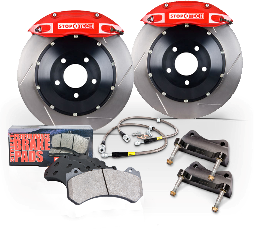 StopTech Big Brake Kit for the all-new 2014 Ford Fiesta ST