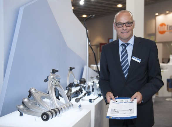 Marcus Winter, Sales Manager Germany, Austria and Switzerland at Automechanika Frankfurt 2014