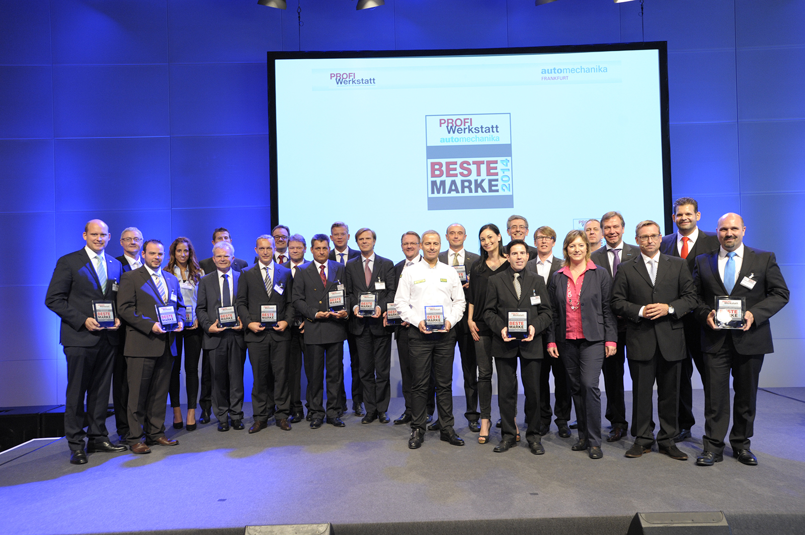 Best PROFI Werkstatt Brand 2014 at Automechanika