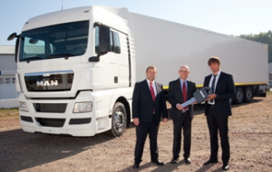 Porsche Finance Group financed the first vehicles from MAN Тruck and Bus Ukraine within MAN Finance program