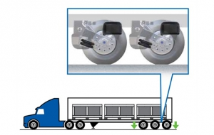Meritor Wabco Automatic Lift Axle Control Manages Suspension Load