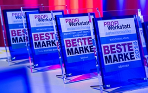 Winners announced: new competition for the 'Best PROFI Werkstatt Brand 2014' at Automechanika