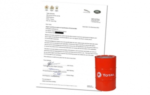 Total Lubricants achieves further Jaguar Land Rover approval
