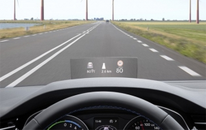 Innovative head-up display for the new Passat