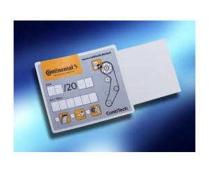 ContiTech improves timing belt change sticker