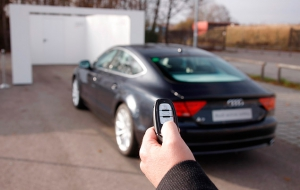 Audi remote key communication
