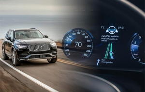 Volvo reveals new self drive interface