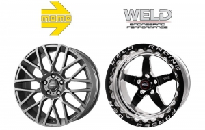 Wheel makers Momo and Weld now sister companies