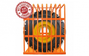 "Martins Industries launches 96"" OTR tyre inflation cage"