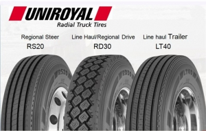 Michelin Offers Uniroyal Tires for Commercial Trucks