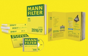 New MANN-FILTER catalogs 2016/17 featuring an extended filter range