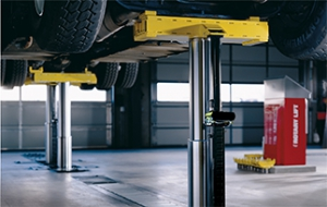 Heavy-Duty Inground Lift Offers Higher Capacity