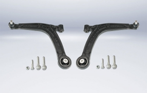 Reinforced MEYLE-HD control arms for Fiat models