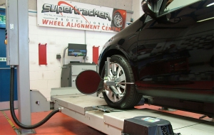 Supertracker introduces 3D efficiency to wheel alignment range