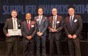 Tenneco receives Volvo Group Purchasing Supplier Awards 2014