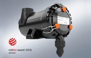 ENTARON HD 4 air cleaner presented with 2016 Red Dot award for product design