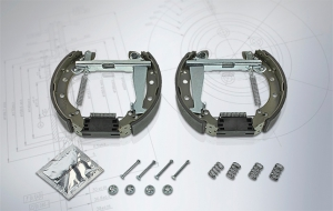 New product additions to almost double MEYLE range of brake shoe kits