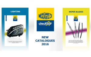 Lighting and Windscreen Wiper Blades are the new Magneti Marelli Aftermarket 2016 catalogues