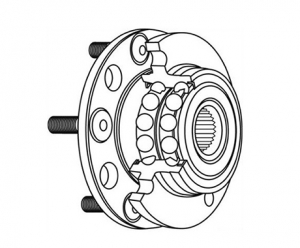Symptoms of a Worn Wheel Hub Bearing
