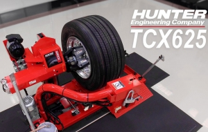 Hunter Introduces a Heavy-Duty Tire Changer