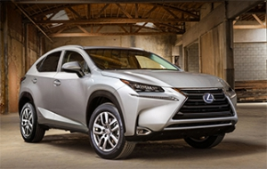 Lexus selects Yokohama tires for crossover SUV