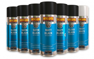 Team P R Reilly introduces new range of Hycote Aerosols