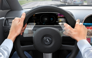 Continental Integrates Gesture-Based Control into the Steering Wheel
