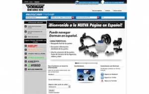 Dorman products launches Spanish website