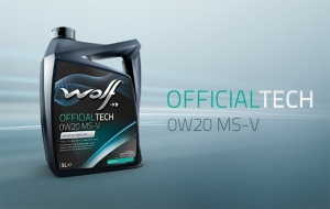 Launch new product: WOLF OFFICIALTECH 0W20 MS-V
