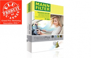 MANN-FILTER FreciousPlus is the Product of the Year 2016 in France