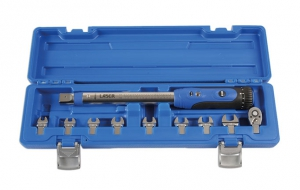 "New detachable-head 1/4"" drive torque wrench from Laser"