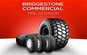 Mobile app helps shop for commercial tires