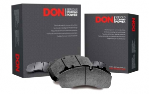 DON launches new brake pads to improve efficiency for commercial vehicles